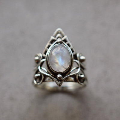 BAGUE YOGA TRIANGULAIRE