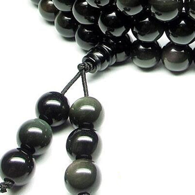COLLIER YOGA OBSIDIENNE