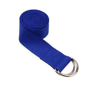Sangle de Yoga bleue