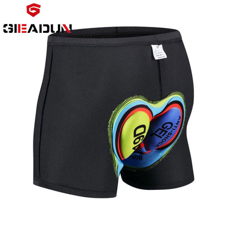 Unisex Underwear Silica Gel Padded Short Pants