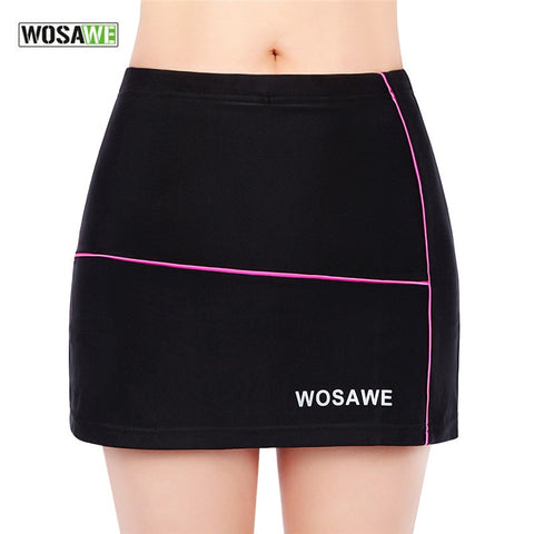 Women's Breathable 3D Gel Pad MTB Bike Cycling Shorts Skirt