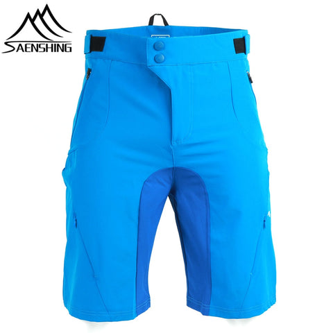 Men Mountain Bike Breathable Shorts Size S-XXL