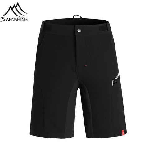 Men Adjustable Waist Mountain Bike Bermuda