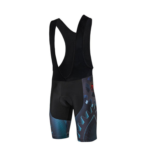 Men Coolmax 4D Gel Padded Shockproof Breathable Bicycle Shorts