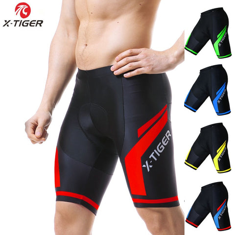 Men 5D GEL Padded Shockproof Bicycle Shorts