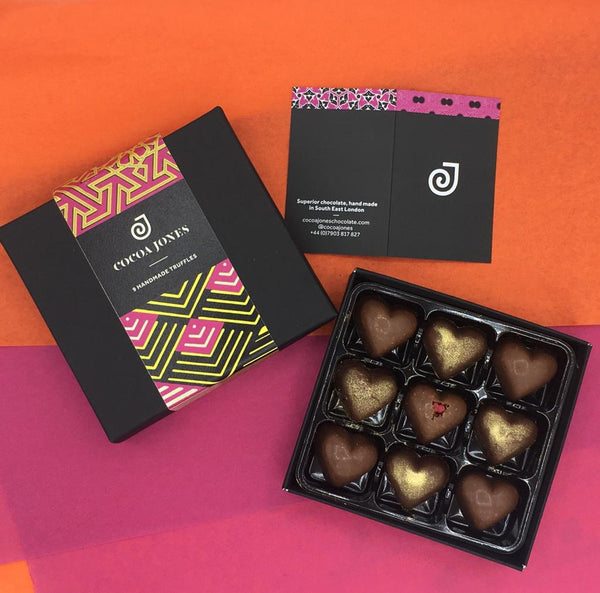 Purley Mosque Fundraising Truffle Box