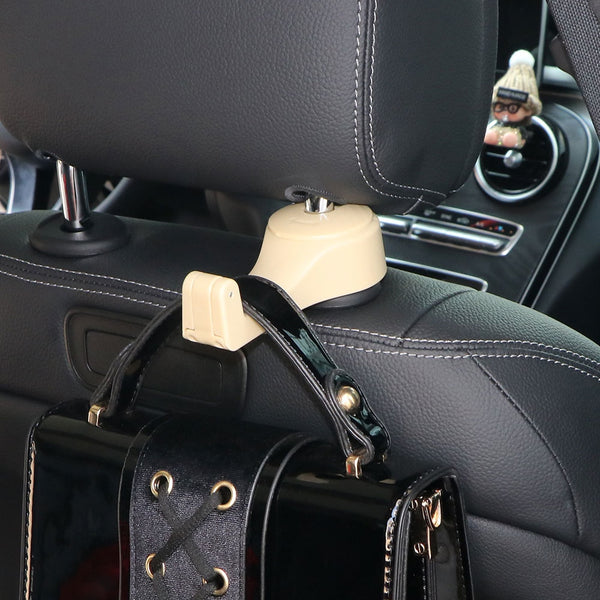 2 In 1 Headrest Hook & Phone Holder Bracket 4-6 Inch Seat Back ...
