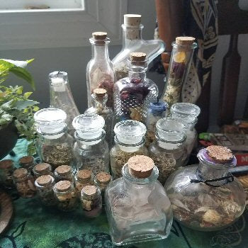 Witch Bottles & Spell Jars