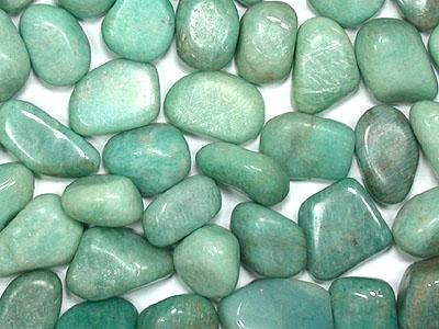 Amazonite - Tumbled - Tree Of Life Shoppe