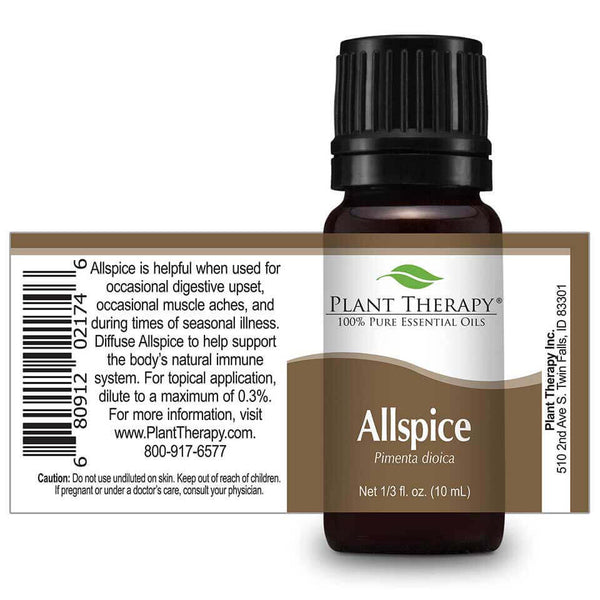 Allspice Essential Oil 10ml - Tree Of Life Shoppe