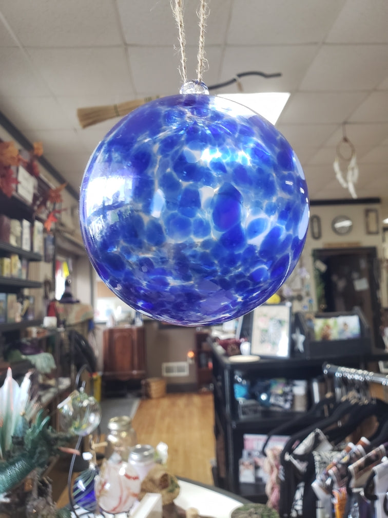 Icy Waters Witch Ball 4 inches - Tree Of Life Shoppe