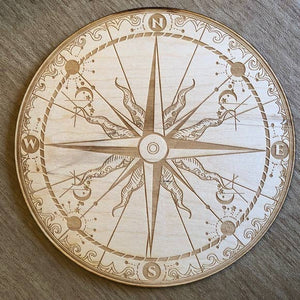 Compass Crystal Grid - Tree Of Life Shoppe