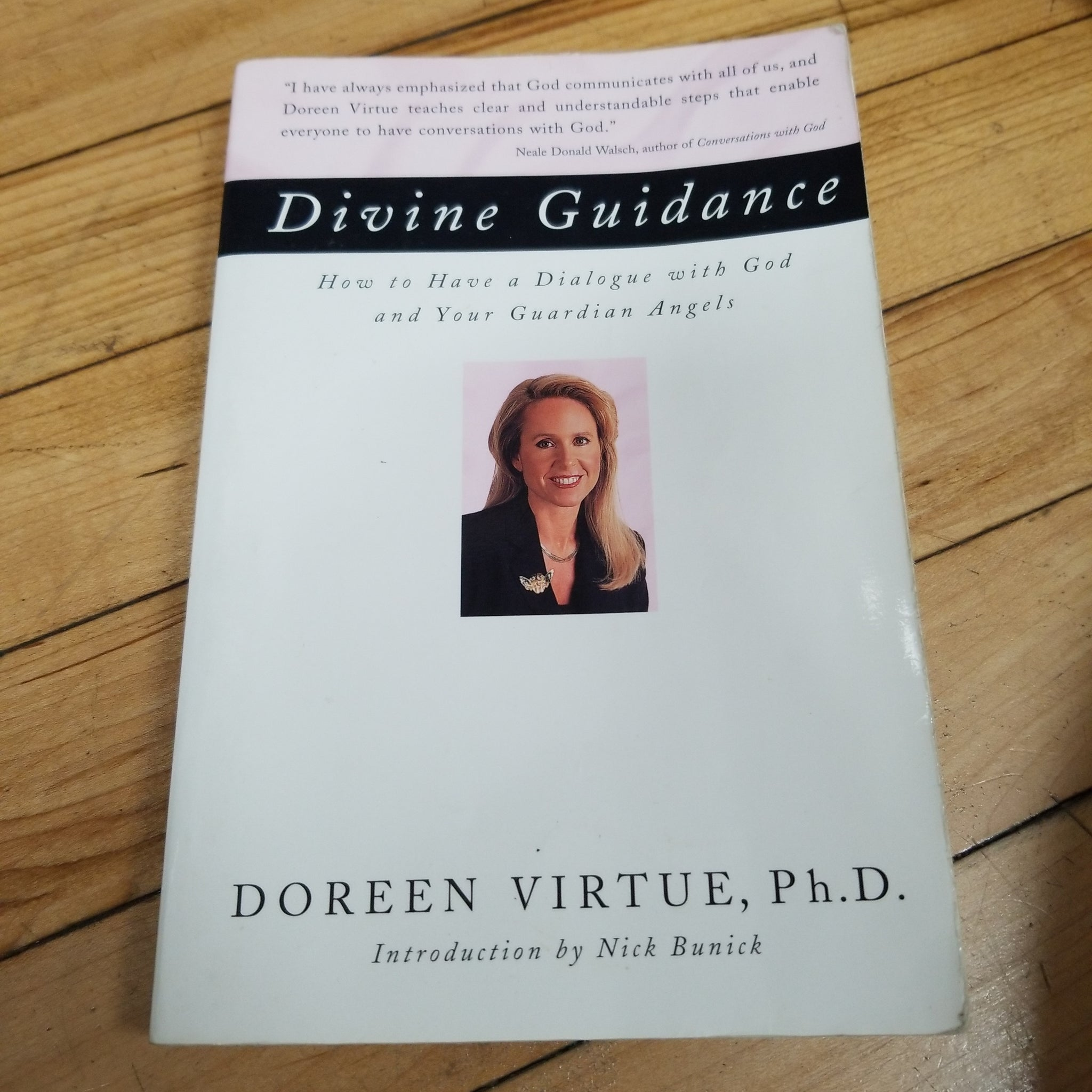 Divine Guidance - Doreen Virtue ( Used - Fair Condition )