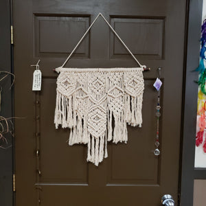 "Macrame Wall Hanging ""Levels"" - Tree Of Life Shoppe"