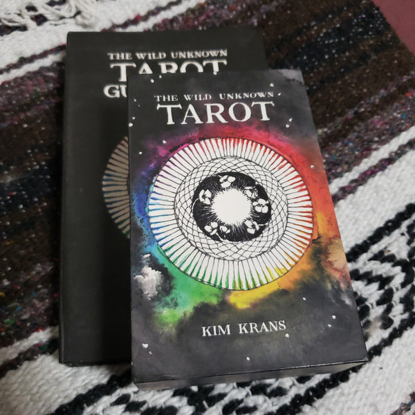 The Wild Unknown Tarot ( Used - Excellant Condition ) - Tree Of Life Shoppe