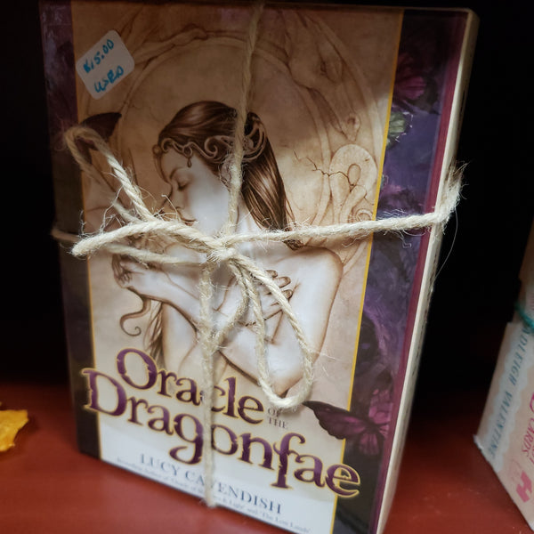 Oracle of the Dragonfae ( Used - Excellant Condition ) - Tree Of Life Shoppe