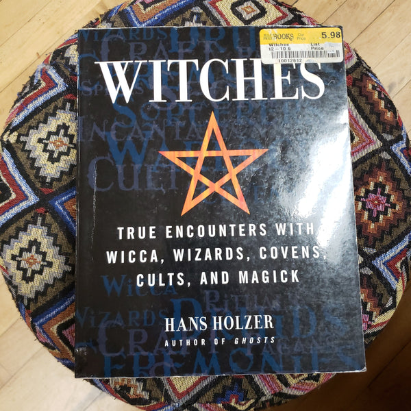 Witches by Hans Holzer ( Used - Good Condition )
