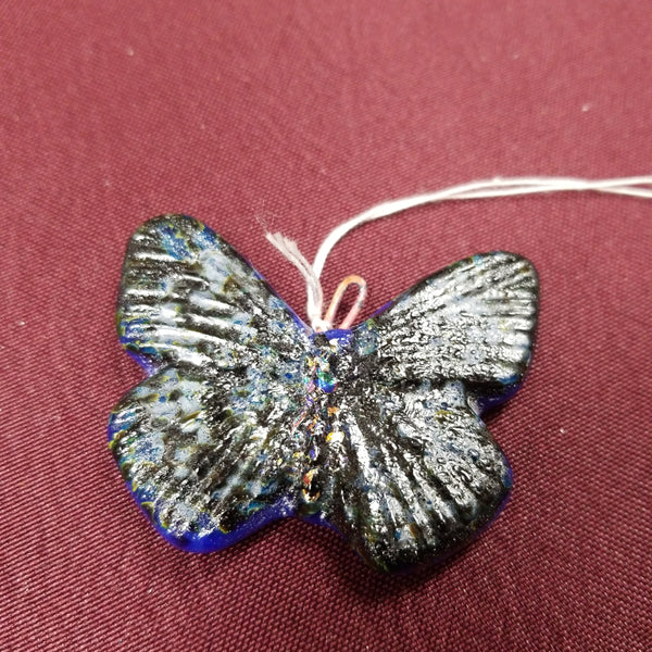 Hand crafted Fused Glass Suncatcher - Small Butterflies