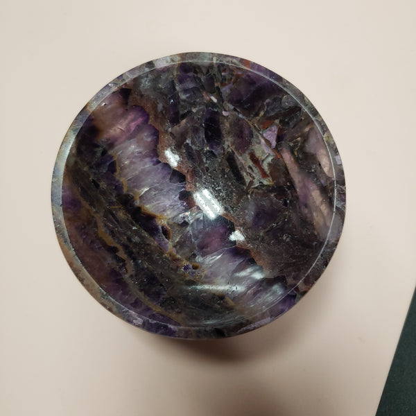 "Amethyst Bowl 3"" - Tree Of Life Shoppe"
