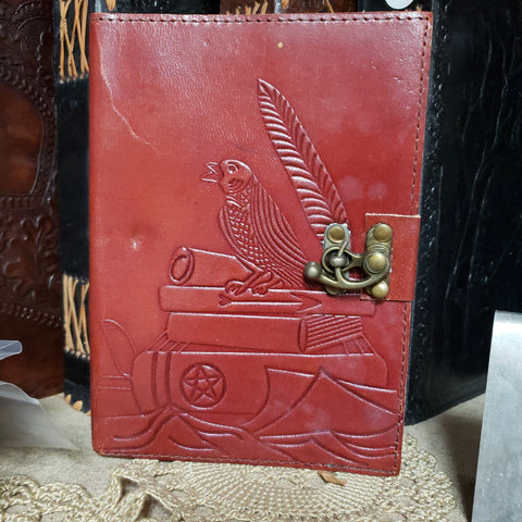 Raven / Crow Leather Jounal