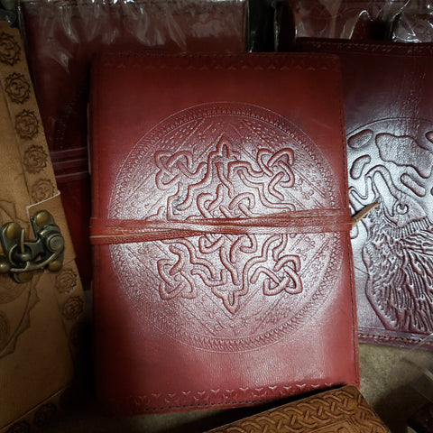 Celtic Knot Leather Jounal