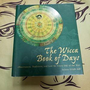 The Wicca Book of Days ( Used - Good Condition ) - Tree Of Life Shoppe