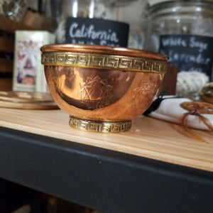 Copper Offering Bowl - Chakra - Tree Of Life Shoppe