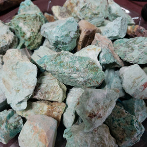 Turquoise - Raw (Chunk) - Tree Of Life Shoppe