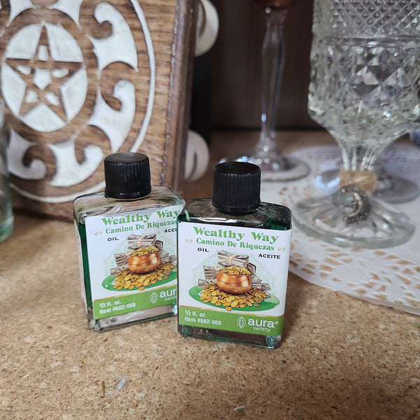 Aura - Intention Oils, Anointing Oils - 4 Dram