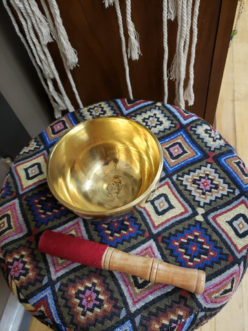 Brass Hand Made Singing Bowl from Nepal