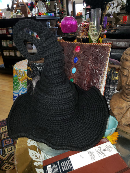 Crocheted Witch Hats - Tree Of Life Shoppe