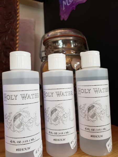 Holy Water 8oz - Tree Of Life Shoppe
