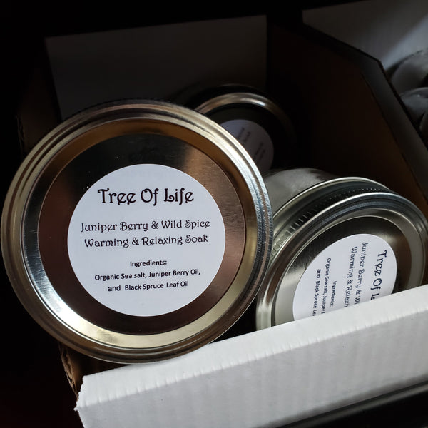 Warm and Relaxing Bath Soaks 8oz - Tree Of Life Shoppe