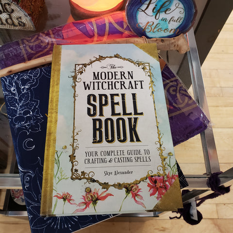 Modern Witchcraft Spell Book (hc) by Skye Alexander - Tree Of Life Shoppe