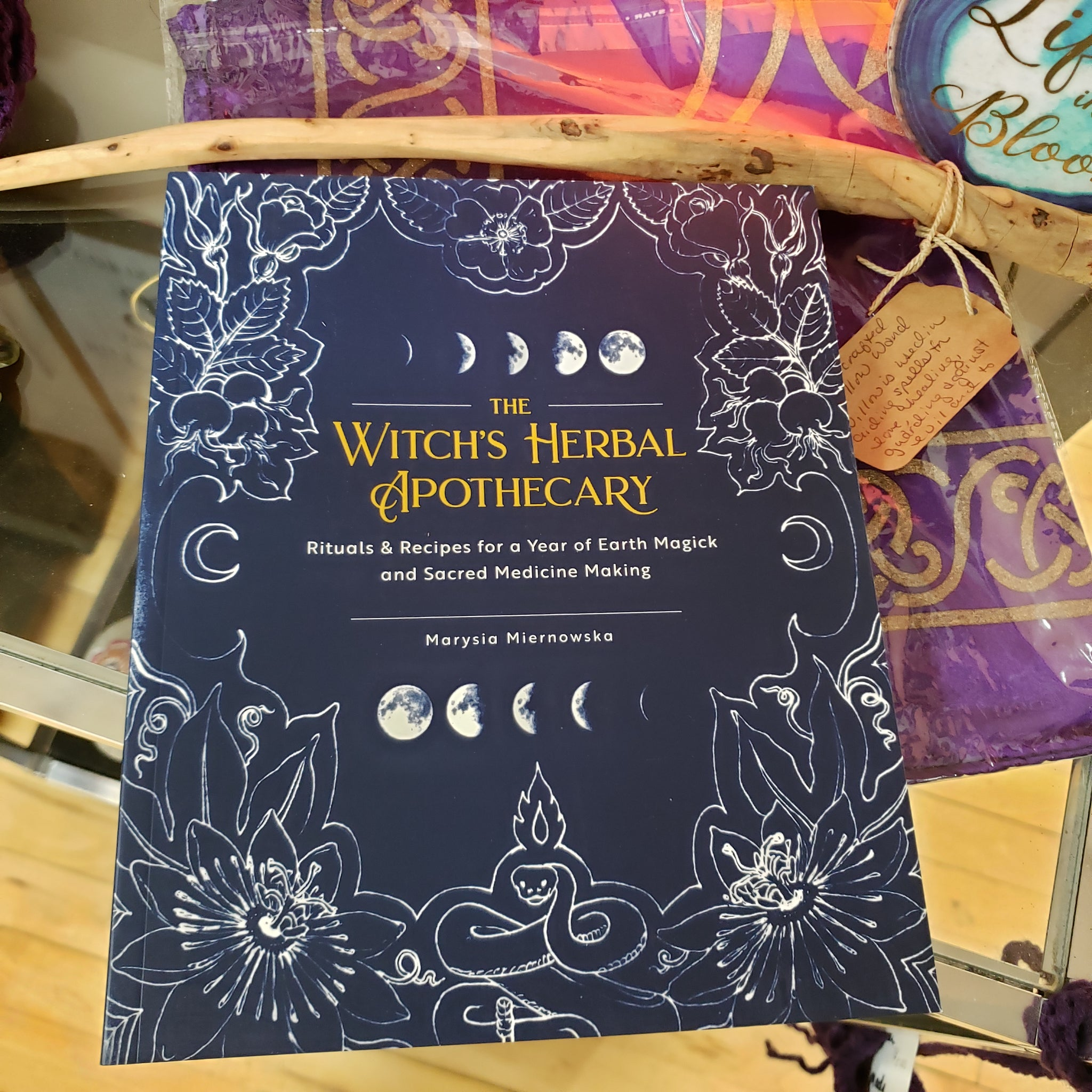Witch's Herbal Apothecary by Marysia Miernoska - Tree Of Life Shoppe