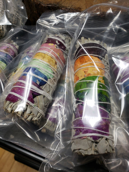 Chakra Sage Smudge Sticks - Tree Of Life Shoppe