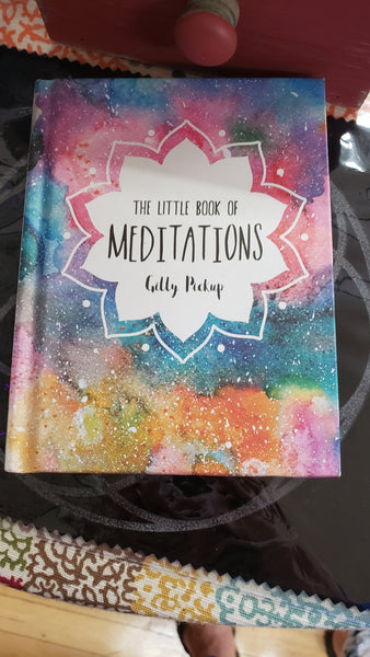 Little Book of Meditations by Gilly Pickup - Tree Of Life Shoppe