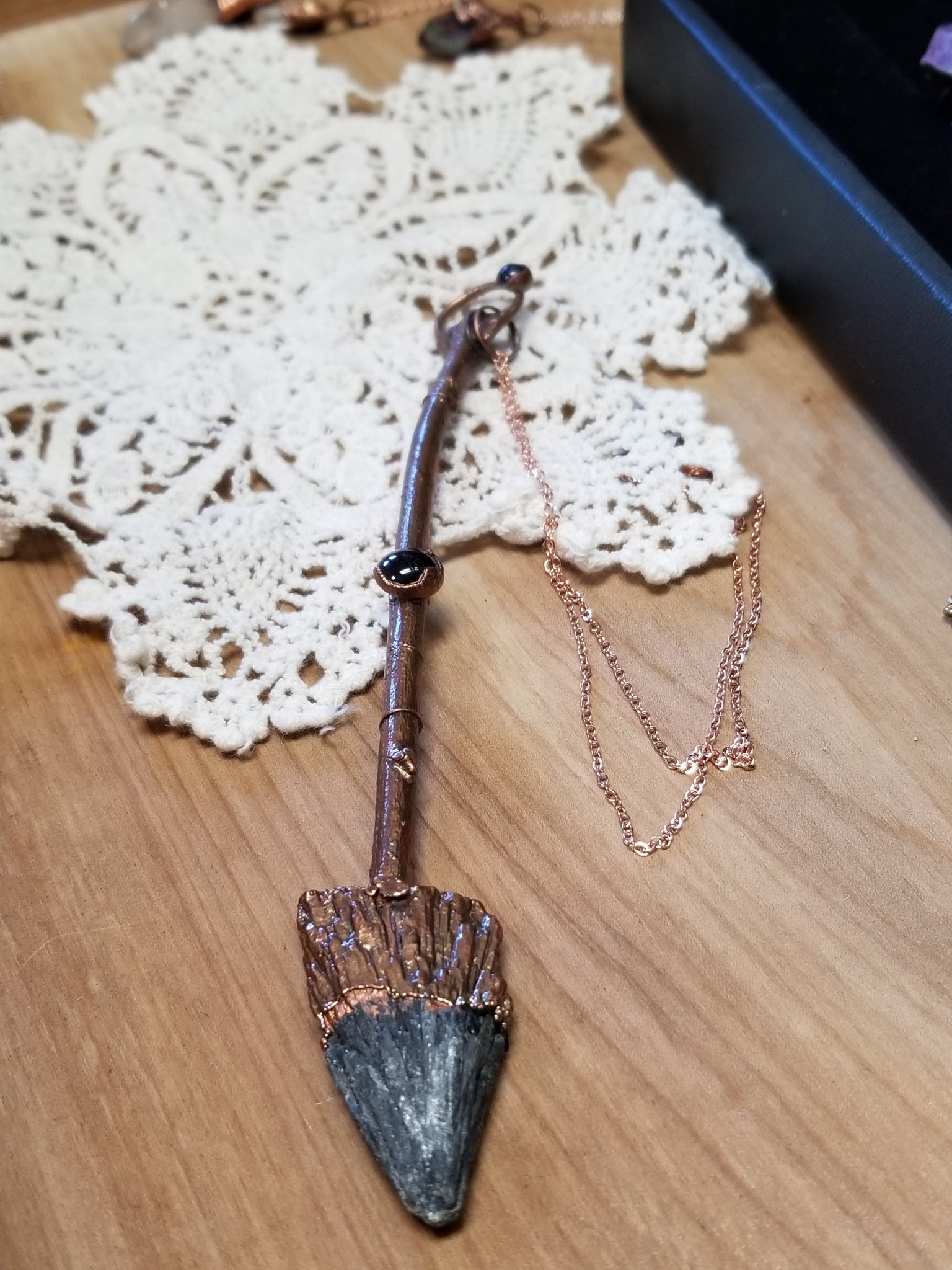 Handcrafted Copper Broom Necklaces - Tree Of Life Shoppe