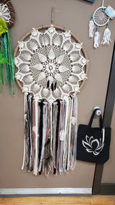 Reflections Hand Made Dream Catcher - Custom - OOAK - Tree Of Life Shoppe