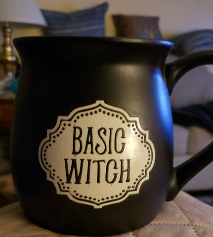 Large Basic Witch Ceramic Mug