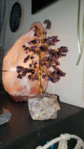 Amethyst #gemstone tree