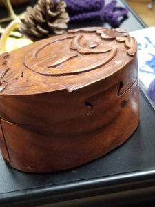 Goddess Wooden Puzzle Box
