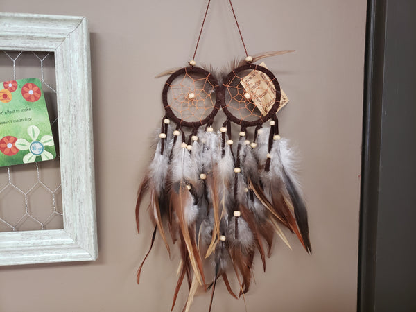 Owl Dreamcatcher 6 Inches - Tree Of Life Shoppe