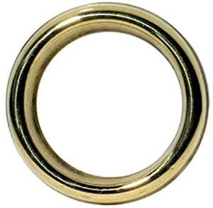 "Brass Oil Burner/Aromatic Ring - 2.5""D"