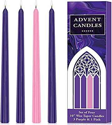 Advent Candle Set - Tree Of Life Shoppe