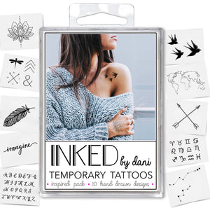 Temporary Tattoos - Inspiration Pack - Tree Of Life Shoppe