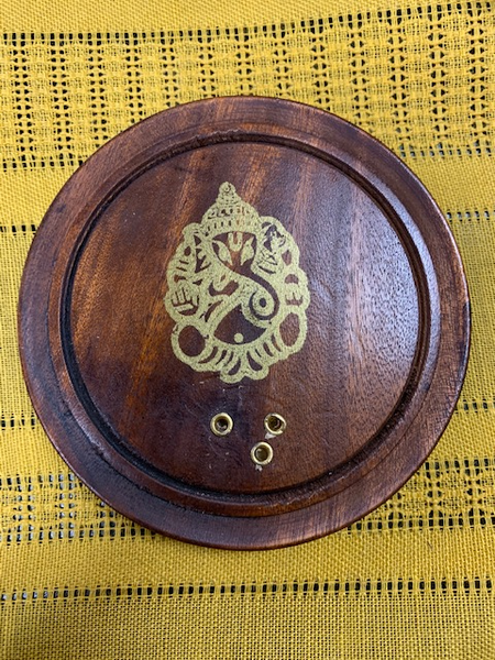 Wooden Incense Holder - Tree Of Life Shoppe