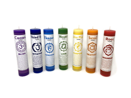"7"" Chakra Scented Candles gift box(Set of 7)"