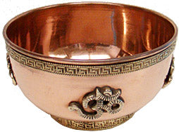 Copper Offering Bowl - OM - Tree Of Life Shoppe