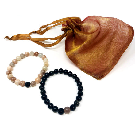 Paired Gemstone Bracelet Sets - Various